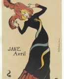 Henri de Toulouse-Lautrec (French, 1864-1901). Jane Avril. 1899. Lithograph, sheet: 22 1/16 x 15? (56 x 38.1 cm) The Museum of Modern Art, New York. Gift of Abby Aldrich Rockefeller, 1946