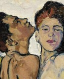 Koloman Moser, <em>Lovers</em>, c. 1914 © Leopold, Private Collection, Photo: Leopold Museum, Vienna