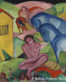 Franz Marc (1880-1916) <em>The Dream</em>, 1912. Oil on canvas. © Museo Thyssen-Bornemisza, Madríd