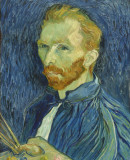 Vincent van Gogh <em>Self Portrait, Autumn</em>,1889.  National Gallery of Art (Washington, USA)