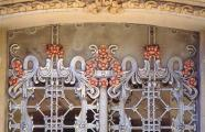 Francisco Roca. Edificio Remonda Montserrat, detail of wrought iron