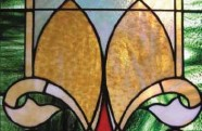 Blas Silva Boucher, 1911. Detail of stained glass of Casa Salazar