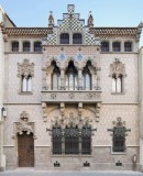 Façade of Casa Coll i Regàs, designed by the architect Josep Puig i Cadafalch in 1898